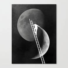 Light Side of the Moon Canvas Print