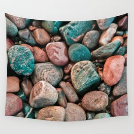 Pebbles of Isle of Skye Wall Tapestry