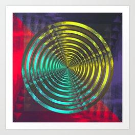 Colure Combination Art Print