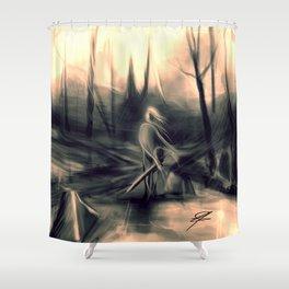 Huntress Shower Curtain