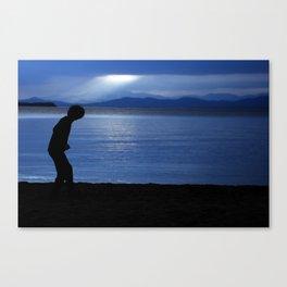 blue champlain Canvas Print