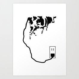 charge Art Print