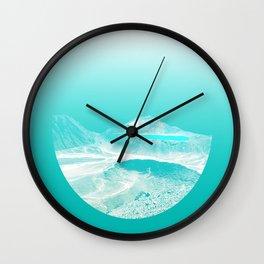 Dreamin of Tongariro Wall Clock