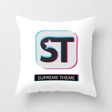 Supreme WordPress Theme Throw Pillow