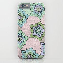 zakiaz lotus design iPhone Case