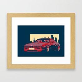 Classci Bmw -ART Framed Art Print
