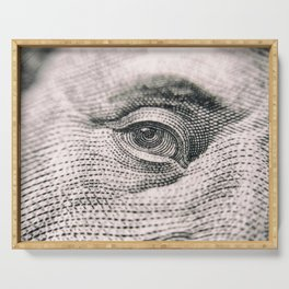 Benjamin Franklin Eye Serving Tray