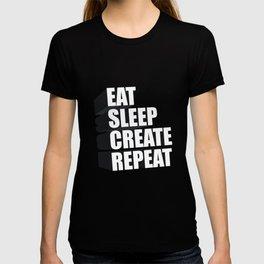 3d Typography T-shirt