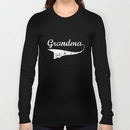 Grandma Women Gift For Her Grandma Gift Mothers Day Gift Grandma T-Shirts Long Sleeve T-shirt
