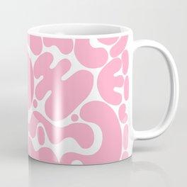 millennial pink blobs Coffee Mug