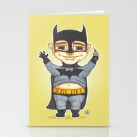 bats Stationery Cards featuring Bats by Shiny Superhero