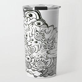 Eyes of the Lady Ink Doodle Travel Mug