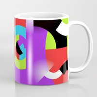 gamer Mugs featuring Gamer by DARWIN STEAD
