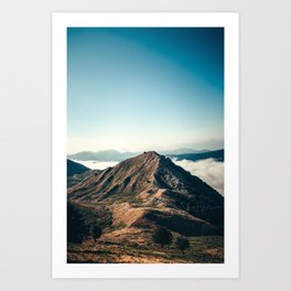 Mountains in the background XXII Art Print