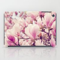 magnolia iPad Cases featuring Magnolia by Juste Pixx Photography