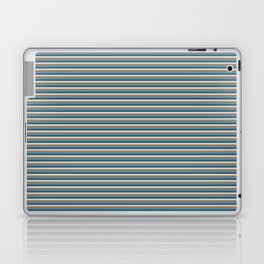 Green, brown stripes Laptop & iPad Skin