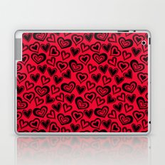 MESSY HEARTS: RED Laptop & iPad Skin