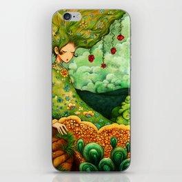 Flower Tree iPhone Skin