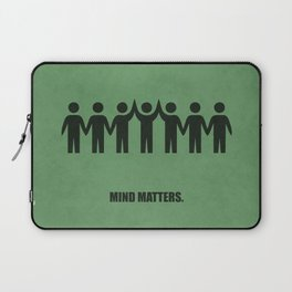 Lab No. 4 - Mind Matters Corporate Start-up Quotes Laptop Sleeve