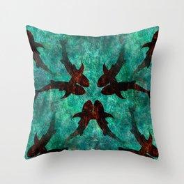 Sharklings Throw Pillow