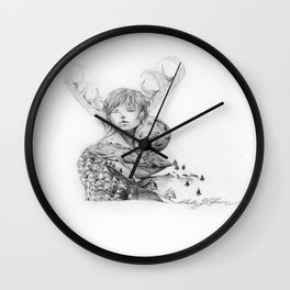 Silence and Obedience Wall Clock