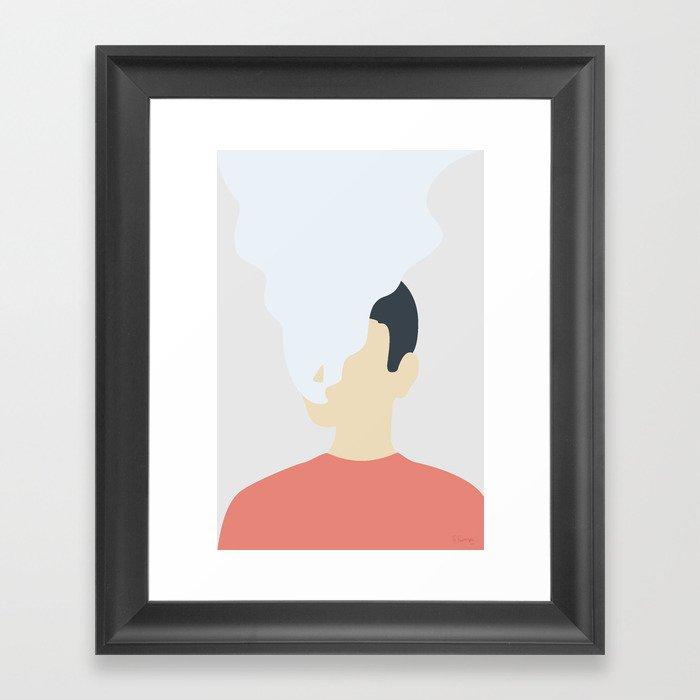RYGEFORBUD Framed Art Print