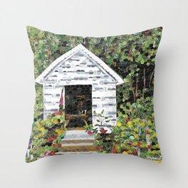 Well House Throw Pillow