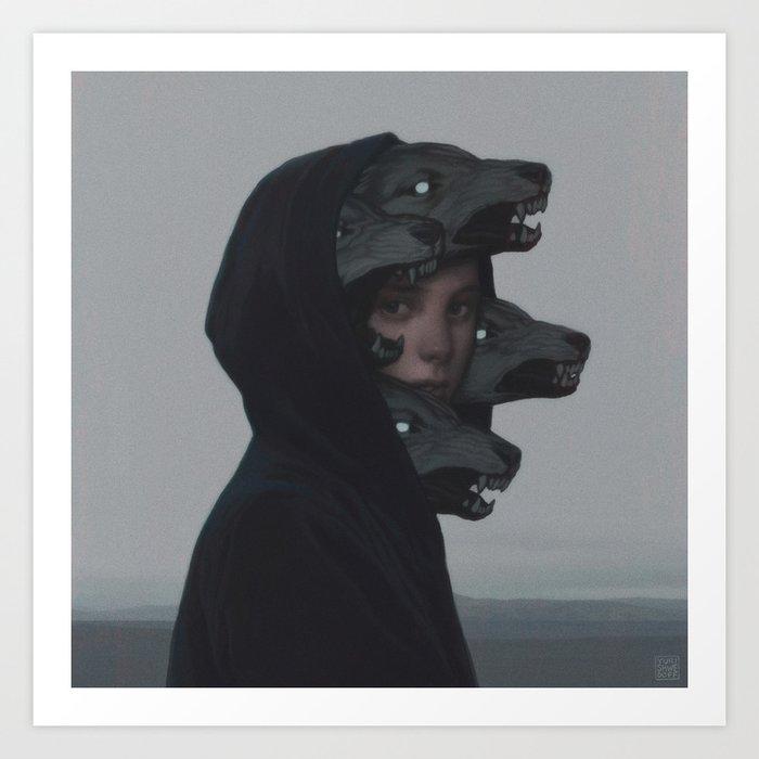 Wolf Pack Kunstdrucke