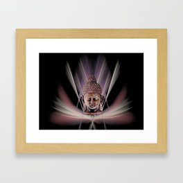 Buddhismus Framed Art Print
