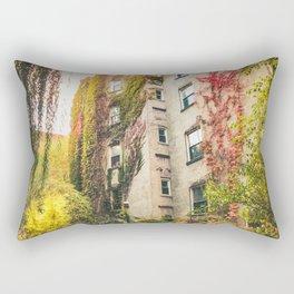 Autumn - New York City - East Village Garden Rectangular Pillow