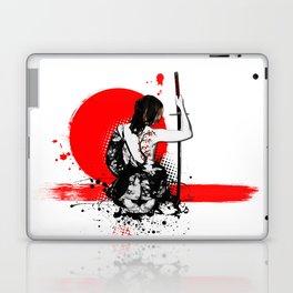Trash Polka - Female Samurai Laptop & iPad Skin