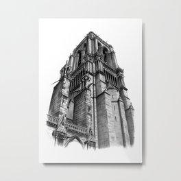 Notredame Paris Metal Print
