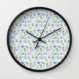 Chibi Mermaid Bebbes Wall Clock