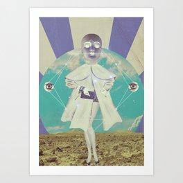 UNIVERSOS PARALELOS 004 Art Print
