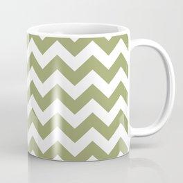 Green Safari Chevron Coffee Mug