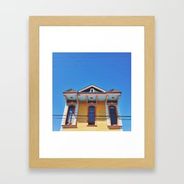 Bywater In The Sky Framed Art Print