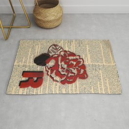 R is for Rose Rug