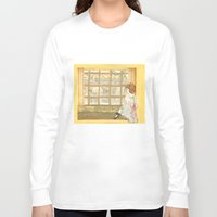 window Long Sleeve T-shirts featuring Window by CHAR ODEN