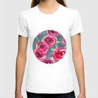 roses T-shirts featuring roses by Vita♥G