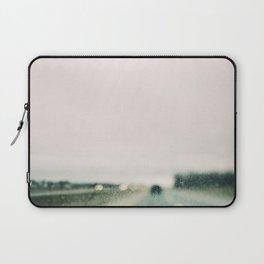 Road and Rain Laptop Sleeve