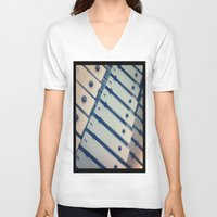 scales V-neck T-shirts featuring Scales by Rick Staggs
