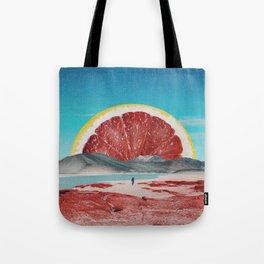 Grapefruit Beach Tote Bag