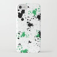 splatter iPhone & iPod Cases featuring Splatter by Inphocus Photography