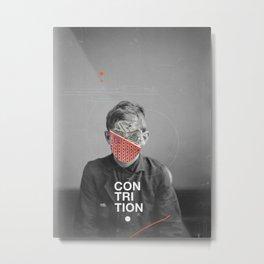 Contrition Metal Print