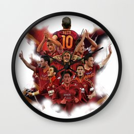 TOTTI 10 Wall Clock