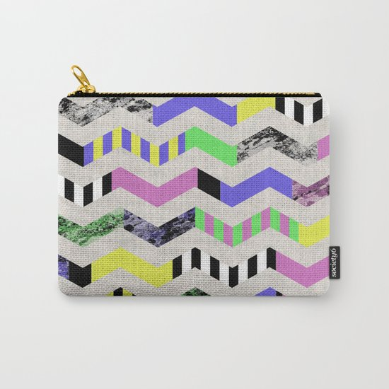 Crazy Zig Zags Carry-All Pouch