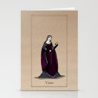 valar morghulis Stationery Cards featuring Vaire by wolfanita