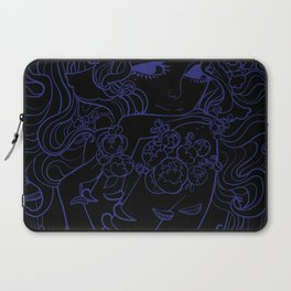 Ghost Fungi - Black Out version Laptop Sleeve