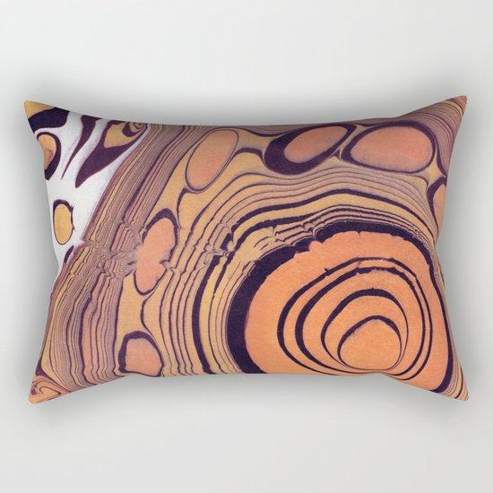 Suminagashi 07 Rectangular Pillow