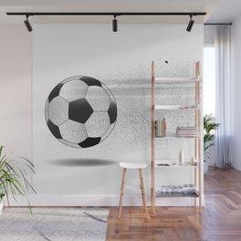 Moving Football Wall Mural